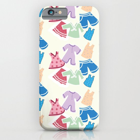 Summer clothes iPhone & iPod Case
