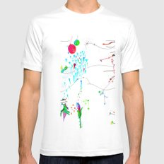Secret Place Number 552 Mens Fitted Tee White SMALL