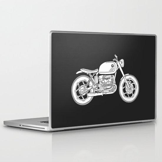 BMW R80 - Cafe Racer series #4 Laptop & iPad Skin