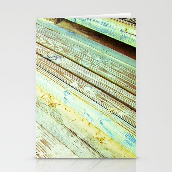 Beach Steps Stationery Card