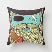 Captain Hope Throw Pillow