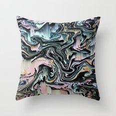 swrlgltch Throw Pillow