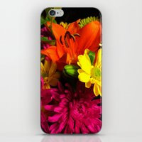 Bouquet of flowers iPhone & iPod Skin