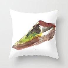 Watercolor Wingtip #1 Throw Pillow