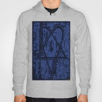 Nightfall Blue Heartagra… Hoody