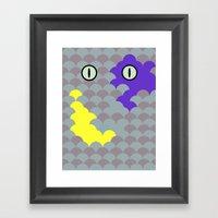 Chesire Scales - Cat Eye… Framed Art Print