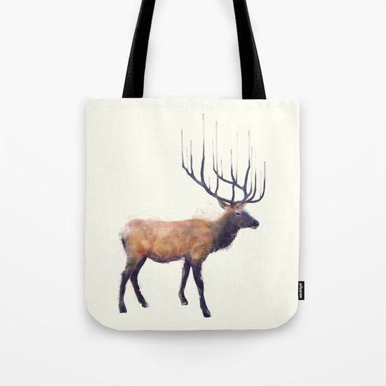 Elk // Reflect (Right) Tote Bag