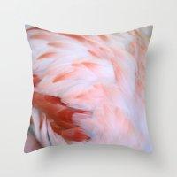 Flamingo #5 Throw Pillow