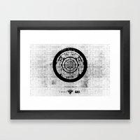 New York Rolling Framed Art Print