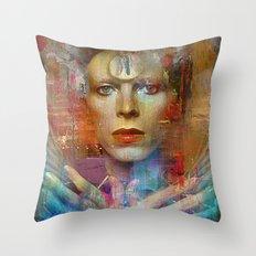Ziggy in the sky  Throw Pillow