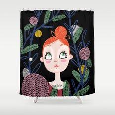 Danseuse nature Shower Curtain