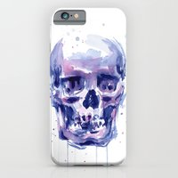 Skull Watercolor iPhone 6 Slim Case