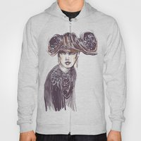 Fashion Sketches In Mixe… Hoody