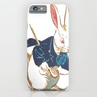 iPhone & iPod Case featuring I'm Late by liberthine01