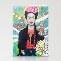 Frida Kahló Stationery Cards