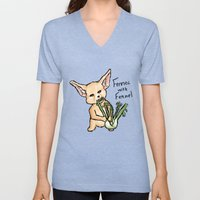 Fennec with Fennel Unisex V-Neck