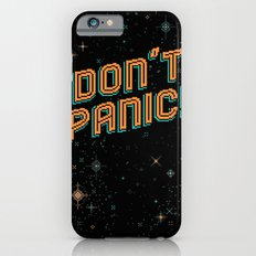 Don't Panic! Pixel Art Slim Case iPhone 6s