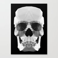 Polygon Heroes - Crystal… Canvas Print