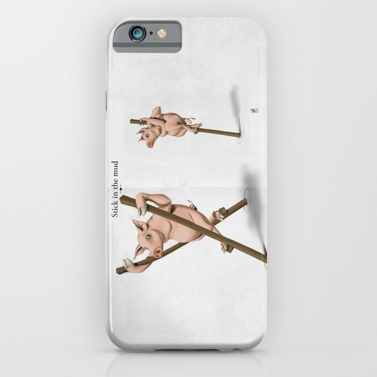 Stick in the Mud iPhone & iPod Case