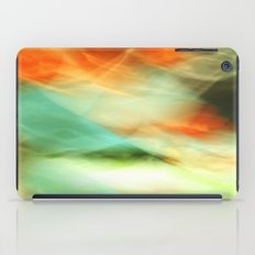 Abstract Art II Blue/Black/Green/Red iPad Case