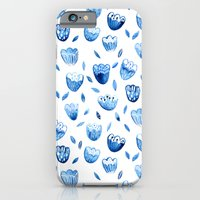 Blue Blossoms iPhone 6 Slim Case