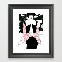 """Did Everything Just T… Framed Art Print"