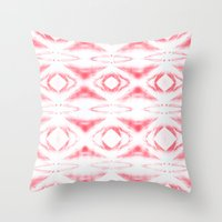 BOHEMIAN PINK Throw Pillow