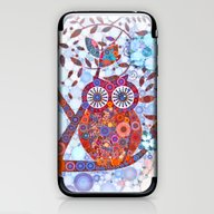 If Klimt Painted An Owl … iPhone & iPod Skin