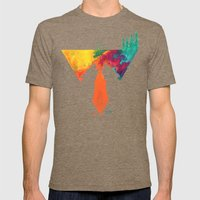 Wolves Mens Fitted Tee Tri-Coffee SMALL