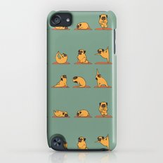 Pug Yoga iPod touch Slim Case