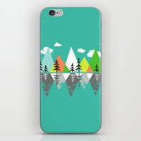 The Crystal Lake iPhone & iPod Skin