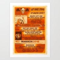 LAZY BONES STUDIOS - 1ST… Art Print