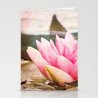 Lotus Stationery Cards