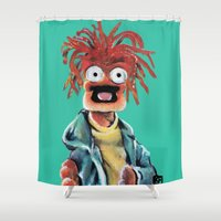 Pepe The King Prawn Shower Curtain