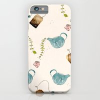 iPhone & iPod Case featuring TEA PARTY PATTERN by MEERA LEE PATEL