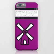 No027 MY Don Quixote Book Icon poster Slim Case iPhone 6s