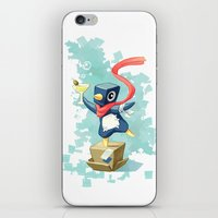 Party Penguin iPhone & iPod Skin