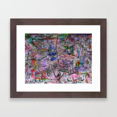 Mother Ganja (take me higher) Framed Art Print