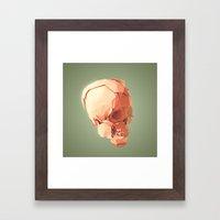 Skull Le Fort Framed Art Print