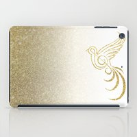 Golden Songbird iPad Case