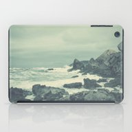 iPad Case featuring Blue Rock Beach by Conundrum Arts