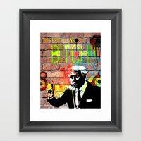 Bob Barker  Framed Art Print