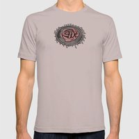 The rose beneith my feet Mens Fitted Tee Cinder SMALL