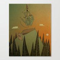 O Grand Royal Wizard Let… Canvas Print