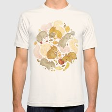 Things Squirrels Probabl… Mens Fitted Tee Natural SMALL
