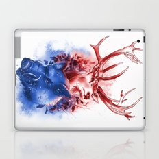 Red Stag and Blue Boar Laptop & iPad Skin