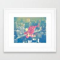 Las Ultimas Flores Framed Art Print
