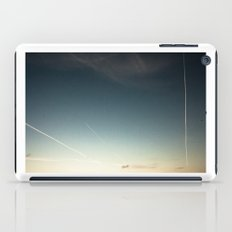 scratched sky iPad Case