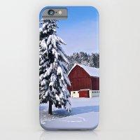 Peace Barn Winter iPhone 6 Slim Case