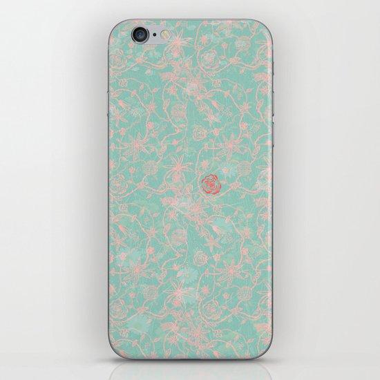 Tribal Flowers iPhone & iPod Skin